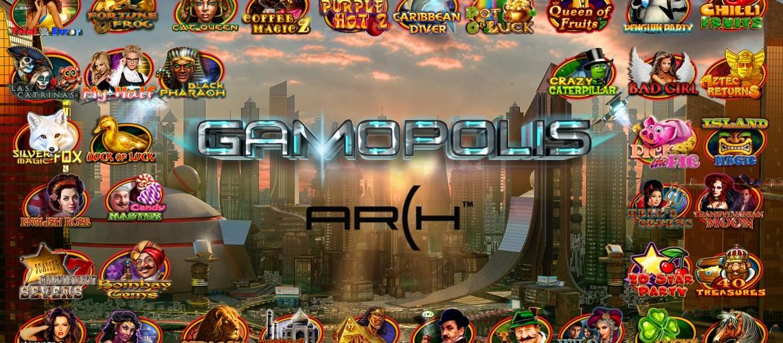 GAMOPOLIS ARCH – 40 games