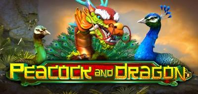 PEACOCK AND DRAGON