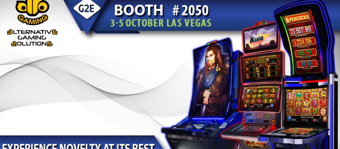 Alto Gaming presents bundle of games and new slots at G2E 2017